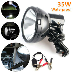 35w Hand held Xenon Hid Spot Light Fishing Boat Camping Waterproof For 12v Car
