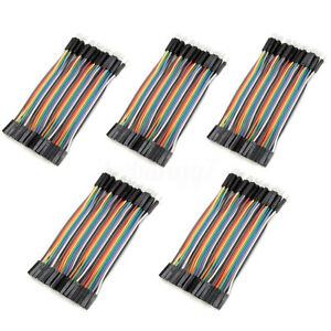 80 120pcs 10cm Male To Female Jumper Cable Color Breadboard Solderless Jump