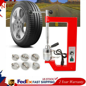 110v Vulcanizing Machine Spot Tire Repair Machine Vulcanizer Equipment Brand New