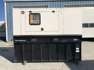 __50 Kw Olympian Generator Set Year 2003 12 Lead Reconnectable 325 Gallon