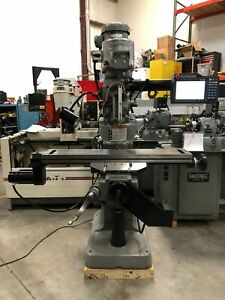 Bridgeport Series 1 Cnc Vertical Milling Machine Kmx Trak 2017 Rebuilt
