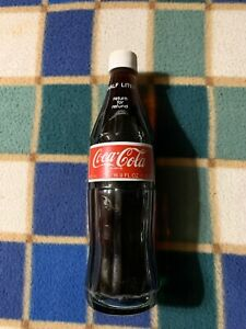 Vintage Coca Cola Original Unopened Collectible Half Liter Bottle - USA