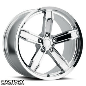 4 20x10 11 Iroc Z Staggered Nitto Tires Package Chrome Camaro Wheels Rims