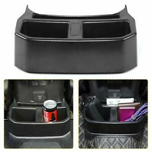 Rear Cup Holder Floor Console Drink Storage Organizer For Jeep Wrangler Jl 18 20