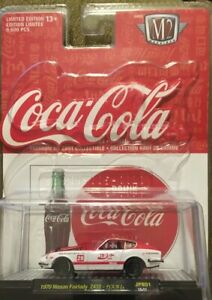 M2 Coca Cola Machine lot of 1 Unopened  1970 Nissan Fairlady Z432 1/64