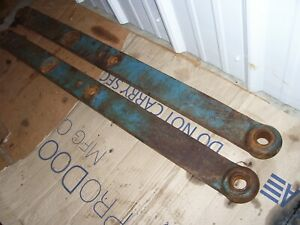Vintage Fordson Major Diesel Tractor 3 Point Lift Arms 1957