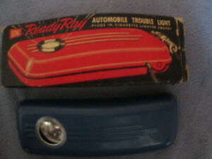 Vintage Automobile Trouble Light Plugs In Cigarette Lighter Socket Bmc Ready Ray