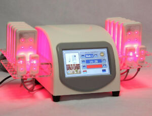 Ce Laser Pads Lipolysis Fat Removal Lipo Massage Body Slimming Beauty Machine