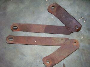 Vintage Allis Chalmers D 17 Gas Tractor 3 Point Sway Chain Brackets 1960