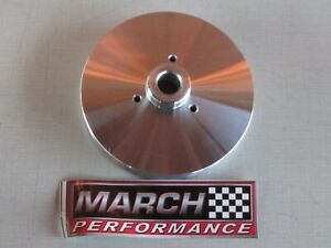 March Performance 630 Polished Power Steering Pulley Mustang F Series Bronco