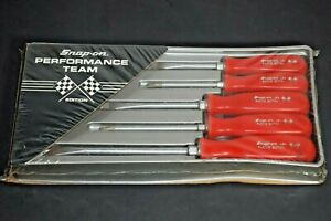 Vintage Snap on Nascar Coors 9 Red Racing Performance Edition Screwdriver Set