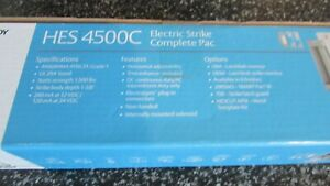 Hes 4500c 12 24d 630 Electric Strike With Faceplate 60 Day Factory Sealed Nib