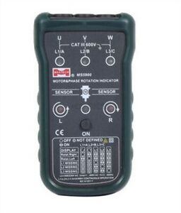 Ms5900 3 Motor Phase Rotation Indicator Meter Sequence Tester Led Fit Ah