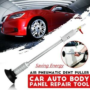 Air Pneumatic Dent Suction Puller Car Auto Body Cup Slide Repair Hammer Tool Kit