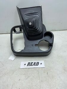 98 01 Ram Floor Console Cup Holder Manual Shifter 4x4 1500 2500 3500 X921