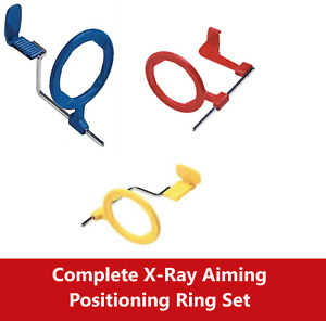 Complete Bitewing X ray Aiming Ring Color Coded Rinn Xcp Style Red Positioning