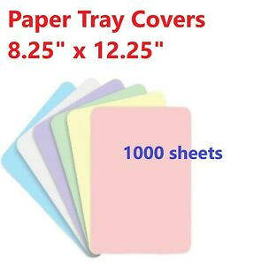 Dental Medical Safedent Disposable Paper Tray Covers 8 25 X 12 25 1000 case
