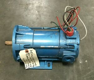 Pacific Scientific Electric Motor 1 4 Hp 1800 Rpm 2 5a 90vdc