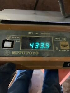 Mitutoyo Counting Balance 982 507 Capacity 500g Scale Made In Japan Tested Works