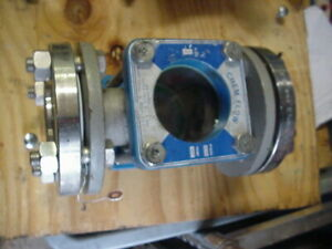 Chem Flow Sight Glass Indicator 2 100s5 2 Opw Visi flo Jacoby Tarbox