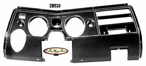 69 Chevelle Dash Instrument Carrier Panel Bezel With Air Malibu El Camino