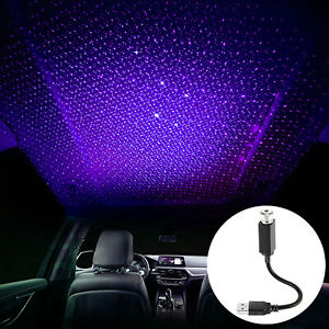 Plug And Play Usb Night Light Ceiling Romantic Car Roof Home Party Decor Lamp