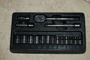 Snap On 17 Pc Metric 1 4 General Service Set 117tmm