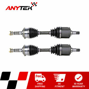 Pair Front Cv Axle Shaft For 4wd 1995 2003 2004 Toyota Tacoma 1996 2002 4runner