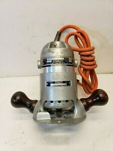 Vintage Stanley Router Type 11 a W base Model 13 a 115v 3 Amp Free Shipping