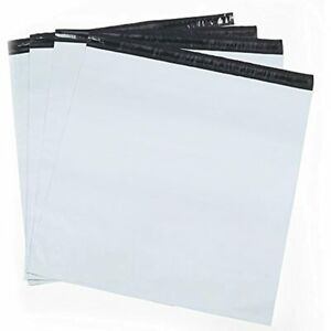 Metronic Large Shipping Bags 100 Pack White Poly Mailers 19x24 Envelopes With