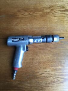 Snap on Tool Ph3050 Air Hammer With Ph200d Quick Change Tested Good