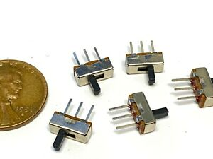 5 Pieces Micro Miniature Pcb Slide Switch Switches Pcb Tactile Small Wd B19