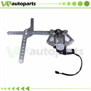 For Chevy Gmc Yukon Cadillac Escalade Power Window Regulator Front Lh With Motor