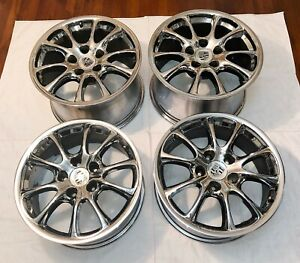 Oem Porsche 911 996 Gt3 Gt2 4s Turbo 996tt 18 Wheels Rims Set 8jx18 11jx18 1