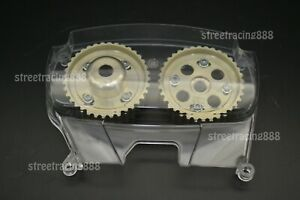 Clear Timing Cover Cam Gear Pulley Camshaft Levin 4age 20v Silvertop Blacktop