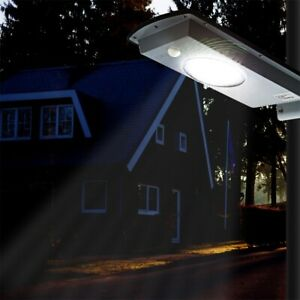 1100LM Solar LED Street Light Commercial Outdoor IP65 Area Security Road Lamp FY $37.04