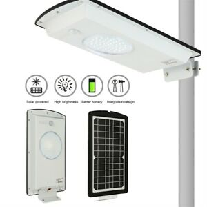 NEW Solar LED Street Light Commercial Outdoor IP65 Area Security Road Lamp kS $37.04