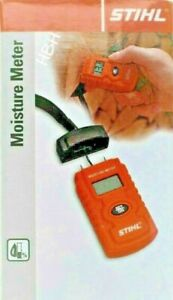 Stihl Moisture Meter Humidity Tester Damp Detector Wood Timber Logs Wall Cement