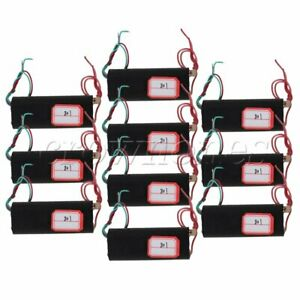 10 Pieces Dc 3v To 700kv Boost Step up Power Module High voltage Generator Black