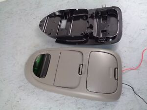 98 03 Ford F150 250 Tan Overhead Console Display And Storage