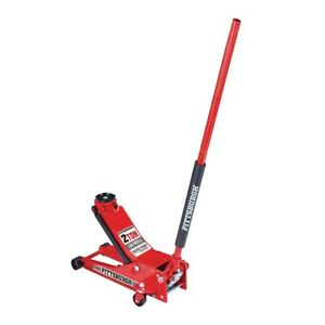 Floor Jack 2 Ton Low Profile Rapid Pump Floor Jack Red