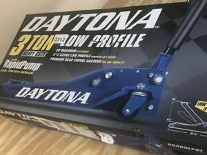 Floor Jack 3 Ton Low Profile Professional Jack W Rapid Pump Blue Daytona