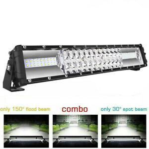 16 Inch Cree Led Work Light Bar 1008w Flood Spot Combo Offroad Driving Lamp