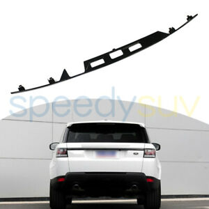For Range Rover Sport 2014 2021 Us Stock Rear Trunk Door Plate Cover Trim Sill