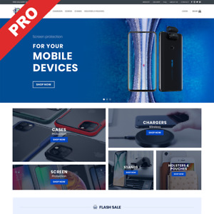 Dropshipping Store Phone Accessories Turnkey Website Business
