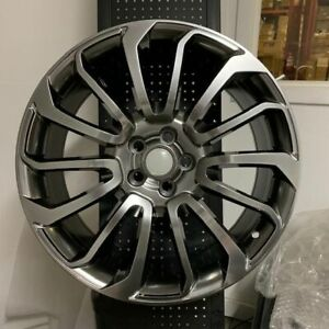 22 Hyper Dark Autobiography Rims Wheels Fits Land Rover Range Hse Supercharged