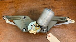 Original Porsche 356 B C Windshield Wiper Motor Assembly 6 Volt