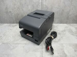 Epson Tm h6000iv Pos Thermal Receipt Printer M253a W 24v Power Plus Cable