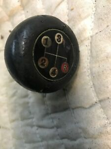 Datsun 240z 260z 280z 1200 B110 B120 Black Ball 4 Speed Shift Knob