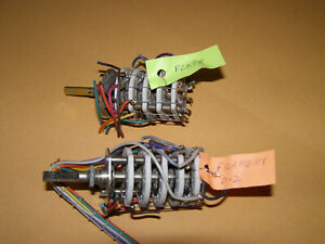 Plate And Filament Selector Switch From Tv 7 u Military Tube Tester